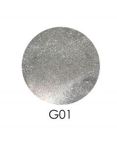 ADORE зеркальный глиттер G01, 2,5 г (серебро)