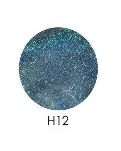 ADORE голограммный глиттер H12, 2,5 г (голубой, голограмма)