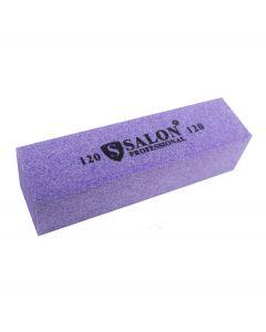 Бафик Salon Professional 120 грит - фиолетовый, брусок