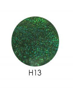 ADORE голограммный глиттер H13, 2,5 г (зеленый, голограмма)