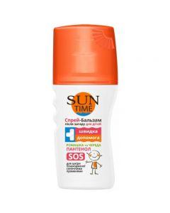 БИОКОН Sun Time спрей-бальзам после загара для детей, 150 мл
