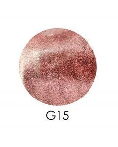 ADORE зеркальный глиттер G15, 2,5 г ( пастельно-розовый)