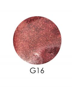 ADORE зеркальный глиттер G16, 2,5 г (приглушенный розово-коралловый)
