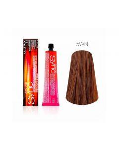 Краска для волос Matrix тон в тон Color Sync, 5WN, 90мл