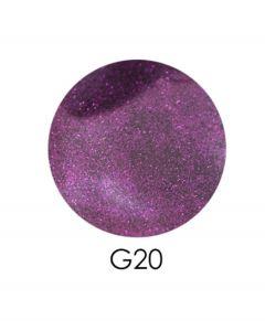 ADORE зеркальный глиттер G20, 2,5 г (сливовый)
