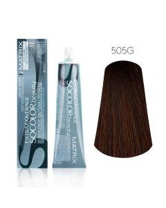 Крем-краска для волос Matrix Socolor Beauty-505G светлый шатен, 90 мл