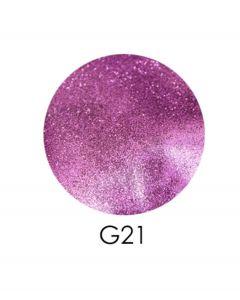 ADORE зеркальный глиттер G21, 2,5 г (лиловый)