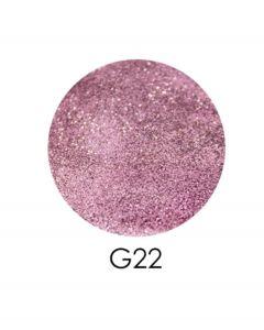 ADORE зеркальный глиттер G22, 2,5 г (розово-сиреневый)
