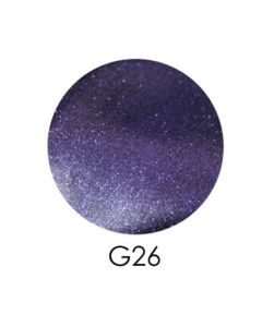 ADORE зеркальный глиттер G26, 2,5 г (баклажановый)