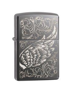 Зажигалка Zippo Filigree Flame and Wing Design 29881