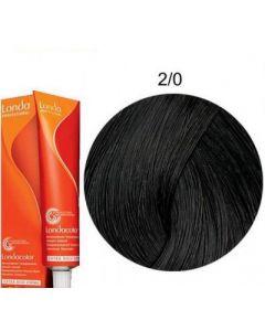 Краска для волос Londa Professional Londacolor DEMI Permanent 2/0, 60 мл