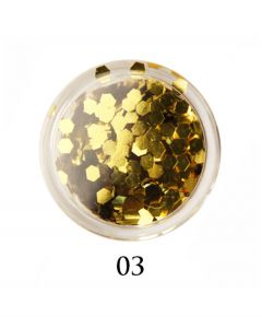ADORE Декор для ногтей DIAMAND 03 (золото)