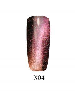Гель-лак ADORE Galaxy Cat`s Eye Х04 7,5 мл.