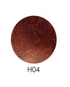 ADORE голограммный глиттер H04, 2,5 г (коричневый, голограмма)
