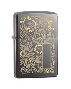 Зажигалка Zippo Luxury Venetian 49162 Зипо Зиппо Zipo кремний фитиль бензин