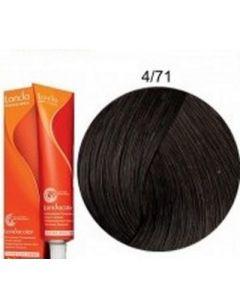 Краска для волос Londa Professional Londacolor DEMI Permanent 4/71, 60 мл