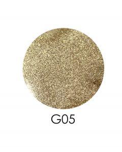 ADORE зеркальный глиттер G05, 2,5 г (пастельное золото)