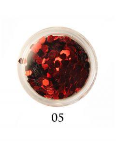 ADORE Декор для ногтей DIAMAND 05 (красный)