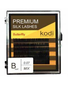 Ресницы KODI B-0.07, 6 рядов (8-2,9-2,10-2) Butterfly