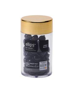 """Витамины для волос Ellips Shiny Black """"Ночное сияние"""" с маслом лесного ореха, 50 капсул"""