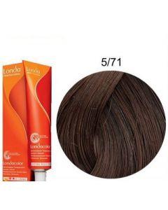 Краска для волос Londa Professional Londacolor DEMI Permanent 5/71, 60 мл