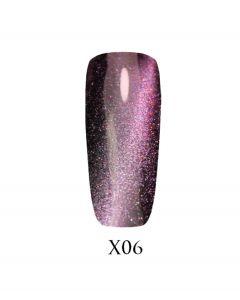 Гель-лак ADORE Galaxy Cat`s Eye Х06 7,5 мл.