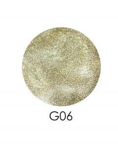 ADORE зеркальный глиттер G06 2,5 г (белое золото)