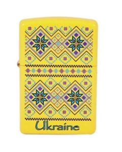 Зажигалка Zippo 24839-UP UKRAINE PATTERN бензин кремний фитиль