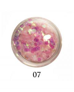 ADORE Декор для ногтей DIAMAND 07 (прозрачно-розовый)