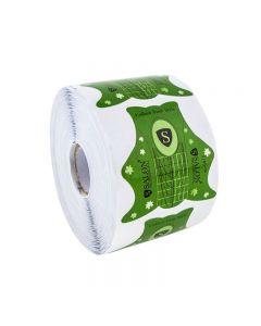 SALON Формы для наращивания ногтей уп. 500 шт. (зеленые).