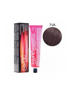 Краска для волос Matrix тон в тон Color Sync, 7 VA, 90мл