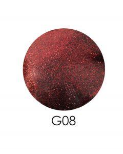 ADORE зеркальный глиттер G08, 2,5 г (бордовый)