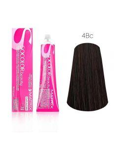 Крем-краска для волос Matrix Socolor Beauty-4BC шатен коричнево-медный, 90 мл