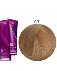 Стойкая крем-краска для волос Londa Professional 9/7 коричневый очень светлый блондин 60 мл