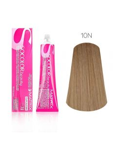 Крем-краска для волос Matrix Socolor Beauty-10N очень-очень светлый блондин, 90 мл