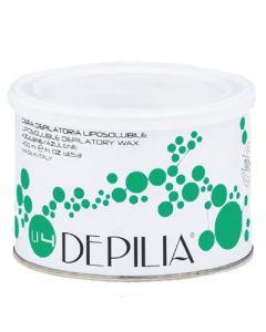 DEPILIA Воск для депиляции в банке  Алое+диоксид титана 400 мл 1.14