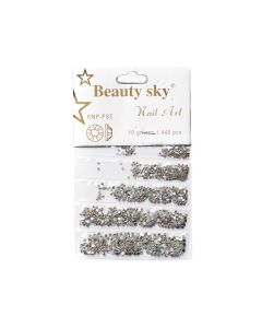 Стразы Beauty Sky Mix AB 1440 шт.