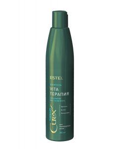 ESTEL Professional Шампунь CUREX THERAPY для сухих, ослабленных и поврежденных волос 300ml