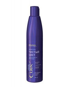 ESTEL Professional Шампунь Серебристый CUREX COLOR INTENSE для холодных оттенков блонд 300 ml