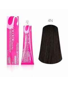 Крем-краска для волос Matrix Socolor Beauty-4N шатен , 90 мл