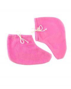 Сапожки для парафинотерапии JERDEN PROFF махра-флис, пара (розовые)