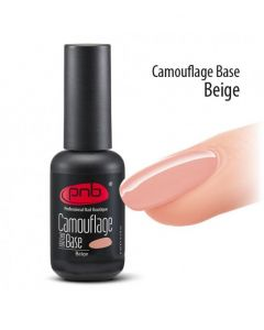 PNB Camouflage Base для гель-лака Beige 8 ml.