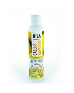Nila Callus ремувер щелочной для педикюра Лимон 250 мл