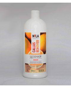 Nila Callus ремувер щелочной для педикюра Лимон 1000 мл