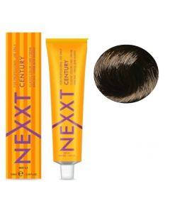 Крем-краска Nexxt Professional 4.00 темно коричневый, 100 мл