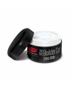 UV/LED Builder Gel Snow White 15 ml/ гель белоснежный белый 15 мл