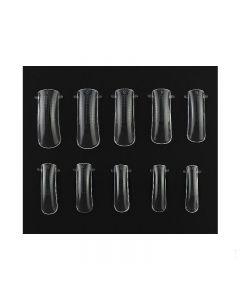 YRE Верхние формы для наращивания ногтей большая упаковка (100 шт).