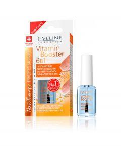"EVELINE Уход ""Vitamin Booster"" 12 мл. NAIL THERAPY PROFESSIONAL 6в1"